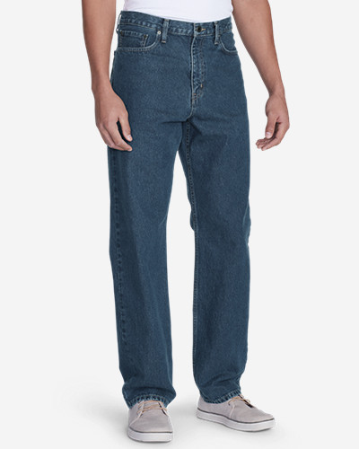 Men's Traditional Fit Essential Jeans