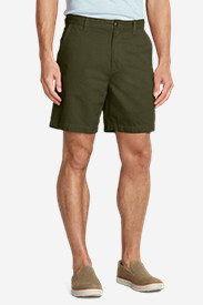 Shorts for Men: Men's Legend Wash 7' Chino Shorts - Solid