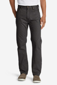 Cotton Pants for Men: Men's Legend Wash Pants - Straight Fit