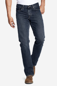 Denim Jeans for Men: Men's Straight Fit Authentic Jeans