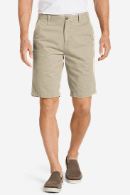 Cotton Shorts for Men: Men's Legend Wash 11' Chino Shorts - Solid