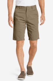 Brown Shorts for Men: Men's Legend Wash 11' Chino Shorts - Solid