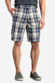 Twill Cargo Shorts for Men: Men's Expedition Cargo Shorts - Pattern