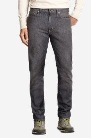 Denim Jeans for Men: Men's Flex Jeans - Slim Straight Fit