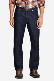 Slim Fit Jeans for Men: Men's Flex Jeans - Slim Straight Fit