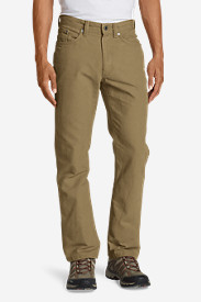 Cotton Pants for Men: Men's Mountain Pants - Straight Fit