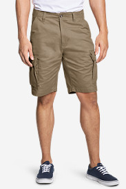 Cotton Shorts for Men: Men's Expedition 11' Cargo Shorts - Solid