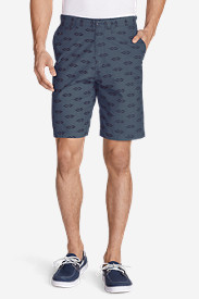 Cotton Shorts for Men: Men's Baja II 9' Chino Shorts - Print