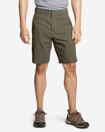 Green Shorts for Men: Men's Horizon Guide 10' Chino Shorts