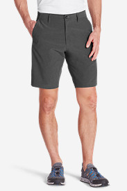 Black Shorts for Men: Men's Amphib 10' Chino Shorts