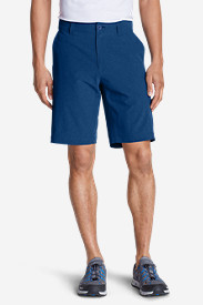 Stretch Khaki Shorts for Men: Men's Amphib 10' Chino Shorts