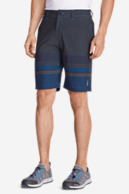 Blue Shorts for Men: Men's Amphib 10' Chino Shorts - Print
