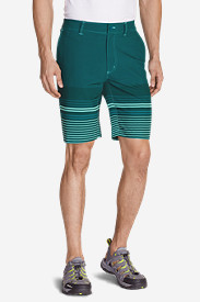 Stretch Khaki Shorts for Men: Men's Amphib 10' Chino Shorts - Print