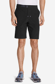 Black Shorts for Men: Men's Amphib Plasma 10' Belted Shorts