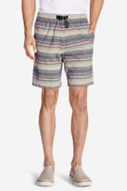 Cotton Shorts for Men: Men's Kebili 9' Belted Shorts - Pattern