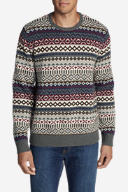 Men's Fair Isle Crew Sweater