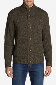 Men's Button Mock Cardigan