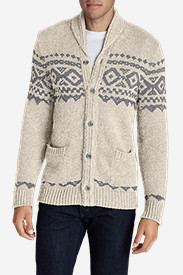 Men's Snow Bridge Cardigan Sweater