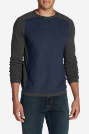 Crewneck Sweaters & Sweatshirts for Men: Men's Talus Textured Crewneck Sweater