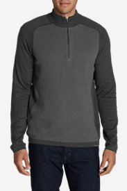 Gray Sweaters & Sweatshirts for Men: Men's Talus Textured 1/4-Zip Sweater