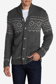 Knit Sweaters & Sweatshirts for Men: Men's Snow Bridge Cardigan Sweater