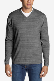 Gray Sweaters & Sweatshirts for Men: Men's Talus V-Neck Sweater
