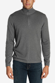 Gray Sweaters & Sweatshirts for Men: Men's Talus 1/4-Zip Sweater