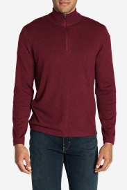 Red Sweaters & Sweatshirts for Men: Men's Talus 1/4-Zip Sweater