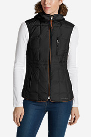Faux Fur Vests: Women's Yukon Classic Down Vest