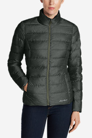 Green Petite Outerwear for Women: Women's CirrusLite Down Jacket
