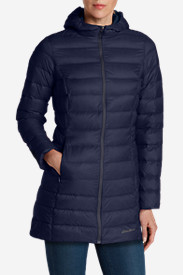 Blue Petite Outerwear for Women: Women's CirrusLite Down Parka