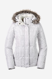 White Parkas: Women's Lodge Down Jacket