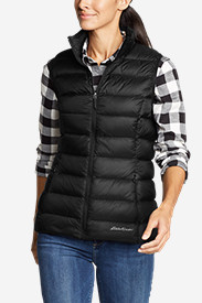 Black Vests: Women's CirrusLite Down Vest