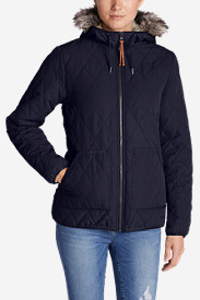 Blue Jackets: Women's Snowfurry Jacket