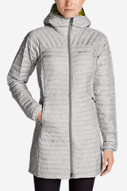 Gray Parkas for Women: Women's MicroTherm StormDown Parka