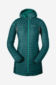 Insulated Parkas for Women: Women's MicroTherm StormDown Parka