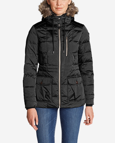 Warmest womens synthetic jacket