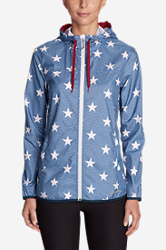 Women's Momentum Light Jacket - Printed