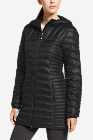 Nylon Parkas: Women's Astoria Hooded Down Parka