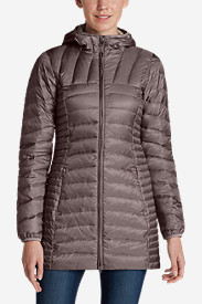 Blue Petite Outerwear for Women: Women's Astoria Hooded Down Parka