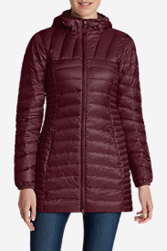 Red Jackets: Women's Astoria Hooded Down Parka