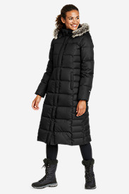 Water Resistant Jackets: Women's Lodge Down Duffle Coat