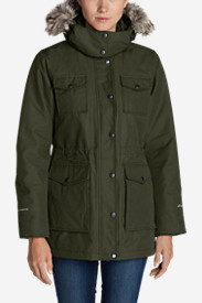Green Petite Outerwear for Women: Women's Westbridge Parka
