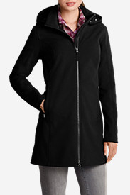 Soft Shell Jackets for Women: Women's Windfoil® Elite Trench Coat