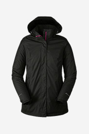 Water Resistant Jackets: Women's Rainfoil® Fleece-Lined Parka