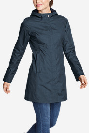 Blue Jackets: Women's MacKenzie Trench Coat
