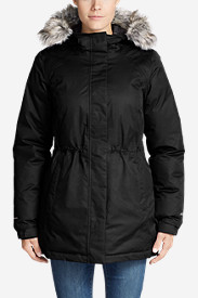 Water Resistant Jackets: Women's Superior Down Parka