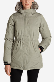 Gray Parkas for Women: Women's Superior Down Parka