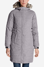 Gray Parkas for Women: Women's Superior Down Stadium Parka