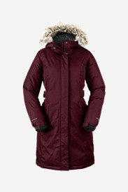 Red Jackets: Women's Superior Down Stadium Parka